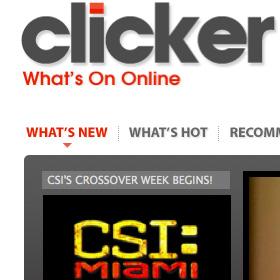 Clicker's main menu