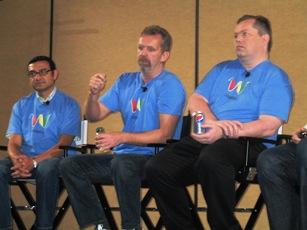 Google's Vic Gundotra, Lars and Gens Rasmussen