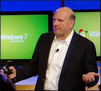 Steve Ballmer at Windows 7 Launch Party