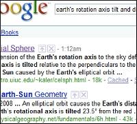 Google search enhancements
