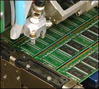Micron memory fabrication in progress