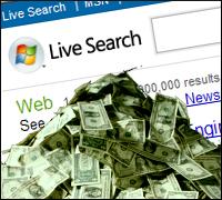 Microsoft search spending