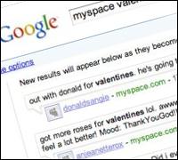 MySpace and Google