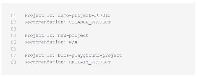 google cloud cleanup